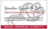Logo Vanden Eynde & Zn[377]